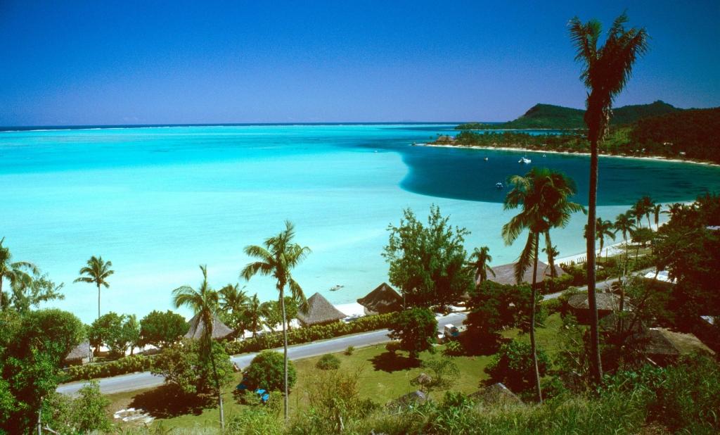 Plage de Matira, Bora Bora