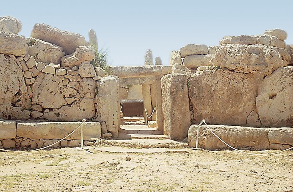 Les temples de Hagar Qim et de Mnajdra